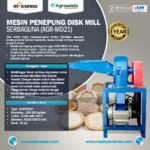 Jual Mesin Pembuat Tepung Disc Mill Di Medan