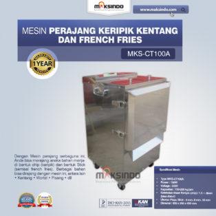 Jual Mesin Perajang Keripik Kentang dan French Fries – MKS-CT100A di Medan