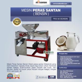Jual Mesin Peras Santan Bensin di Medan