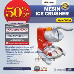 Jual Mesin Ice Crusher MKS-CRS30 di Medan