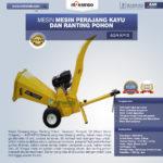 Jual Mesin Perajang Ranting Dan Kayu Basah – KP15 di Medan