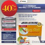 Jual Egg Roll Gas 10 Lubang GRILLO-GS10 di Medan