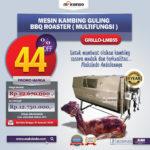 Jual Mesin Kambing Guling Double Location Roaster (GRILLO-LMB55) di Medan
