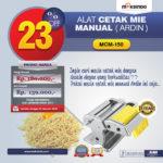 Jual Cetakan Mie Manual Rumah Tangga ARDIN di Medan