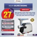 Jual Mesin Giling Daging (Meat Grinder) MHW-G51B di Medan