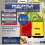 Jual Alat Cetakan Sate Telur Puyuh 16 Hole Ardin TKY16 di Medan