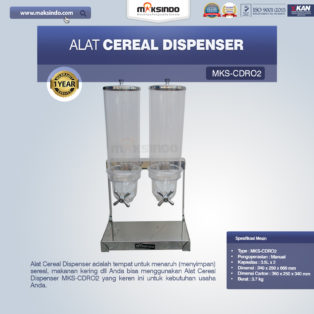 Jual Alat Cereal Dispenser MKS-CDR02 di Medan