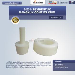 Jual Alat Pembentuk Mangkuk Cone Es Krim MKS-MC01 di Medan