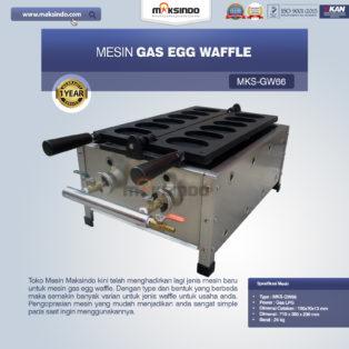 Jual Mesin Gas Egg Waffle GW66 di Medan