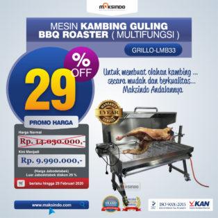 Jual Mesin Kambing Guling Gas (GRILLO-LMB33) di Medan