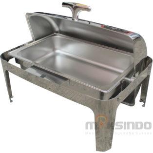 Jual Chafing Dish Oblong Roll Top – 9 Liter di Medan