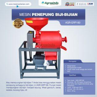 Jual Mesin Penepung Biji-Bijian GRP180 di Medan