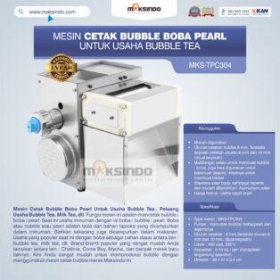 Jual Mesin Cetak Bubble Boba Pearl Untuk Usaha Bubble Tea di Medan