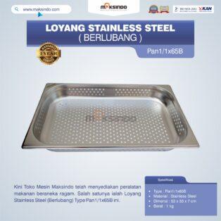 Jual Loyang Stainless Steel (Berlubang) Type Pan1/1x65B di Medan