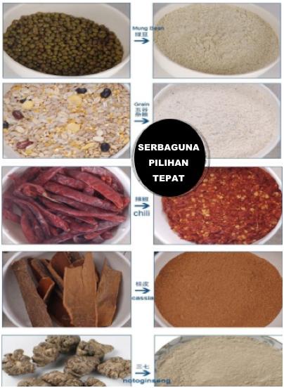 Penepung Herba, Farmasi, Biji (ML200)-4